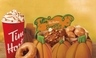 Timhortons pumpkinpack