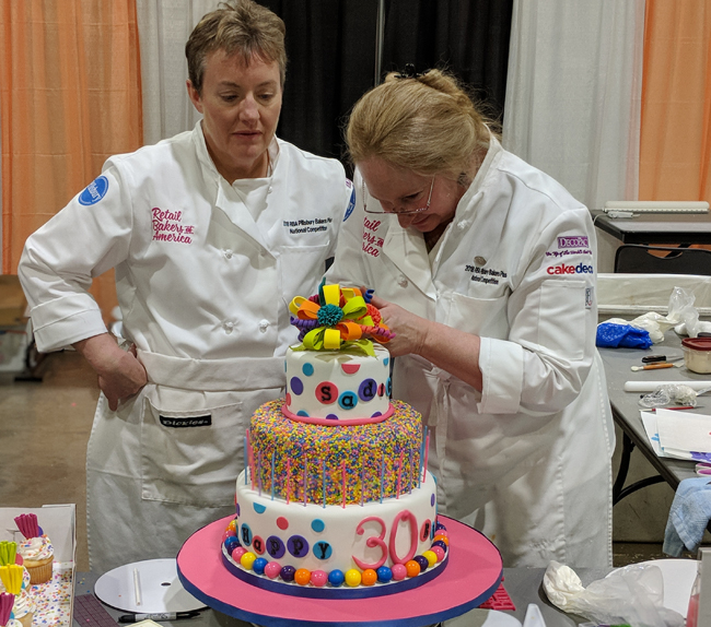 Cake decorators employ complementary skills to victory | Bakemag com