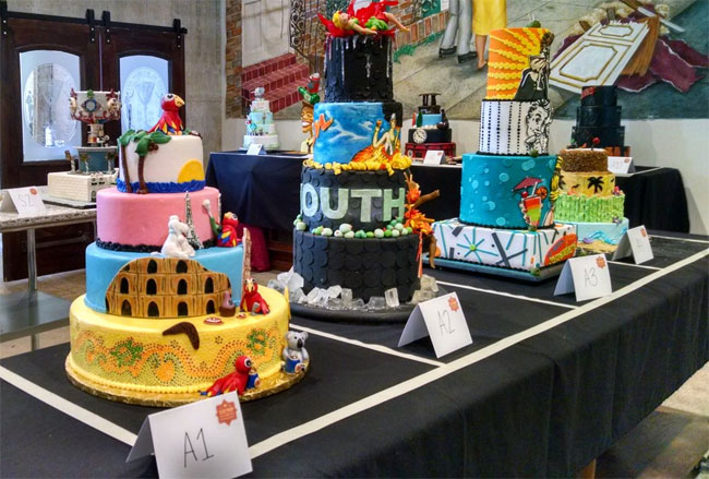 New Orleans Big Top Cake Competition Celebrates Happy Hour