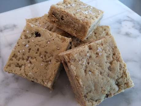 Salted Coconut Blondie from Silverland Bakery