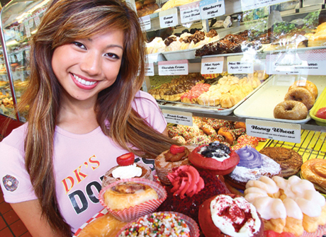 Mayly Tao, co-owner of DK's Donuts and Bakery