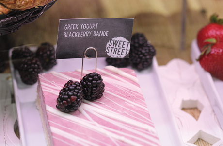 Greek Yogurt Blackberry Bande