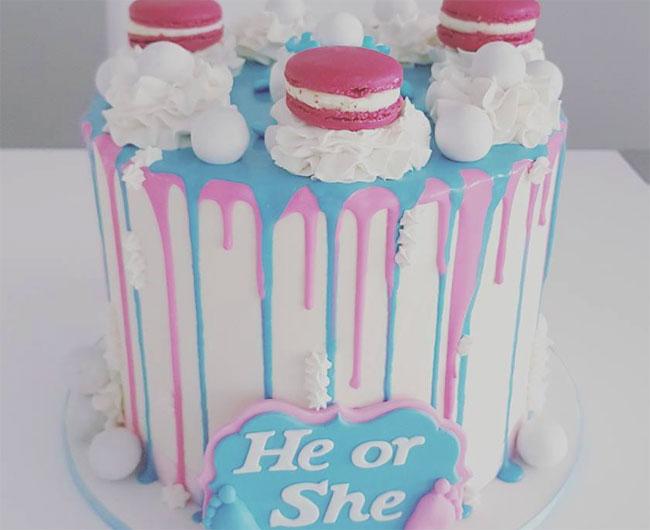 gender reveal cake ideas bakemag com august 31 2017 13 50