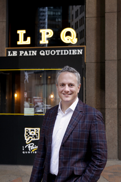 Le Pain Quotidien Bakery & Restaurant announces that Doug Satzman, 42, has joined the company as US chief executive officer.