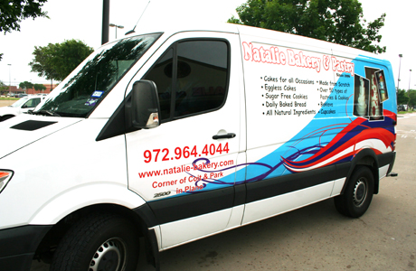 All about promotions Van