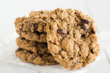 Oatmeal raisin cookies from Sadelle's, a bakery and restaurant in New York City