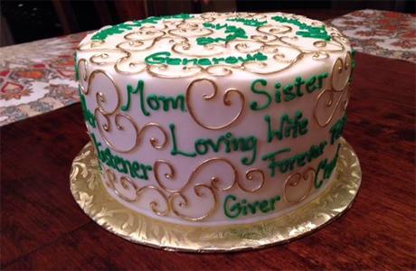 Word Cloud Cake Bake Baking News - Words on cake for birthday